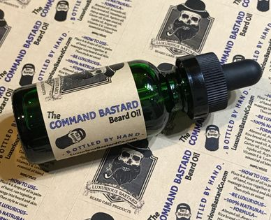 Beard Oils   Luxurious Bastard beard care products