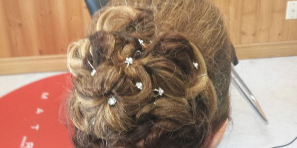 Updo's & wedding specials available