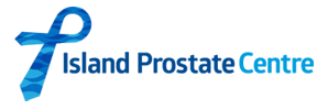 Island Prostate Center Logo. Helping men and their families dal with prostate cancer