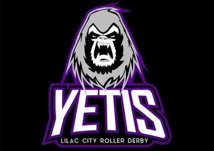The Yetis logo, a yeti creature