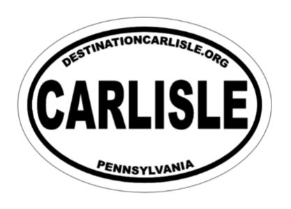 Carlisle Car Decal