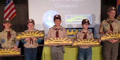 Webelos Scout Arrow of Light