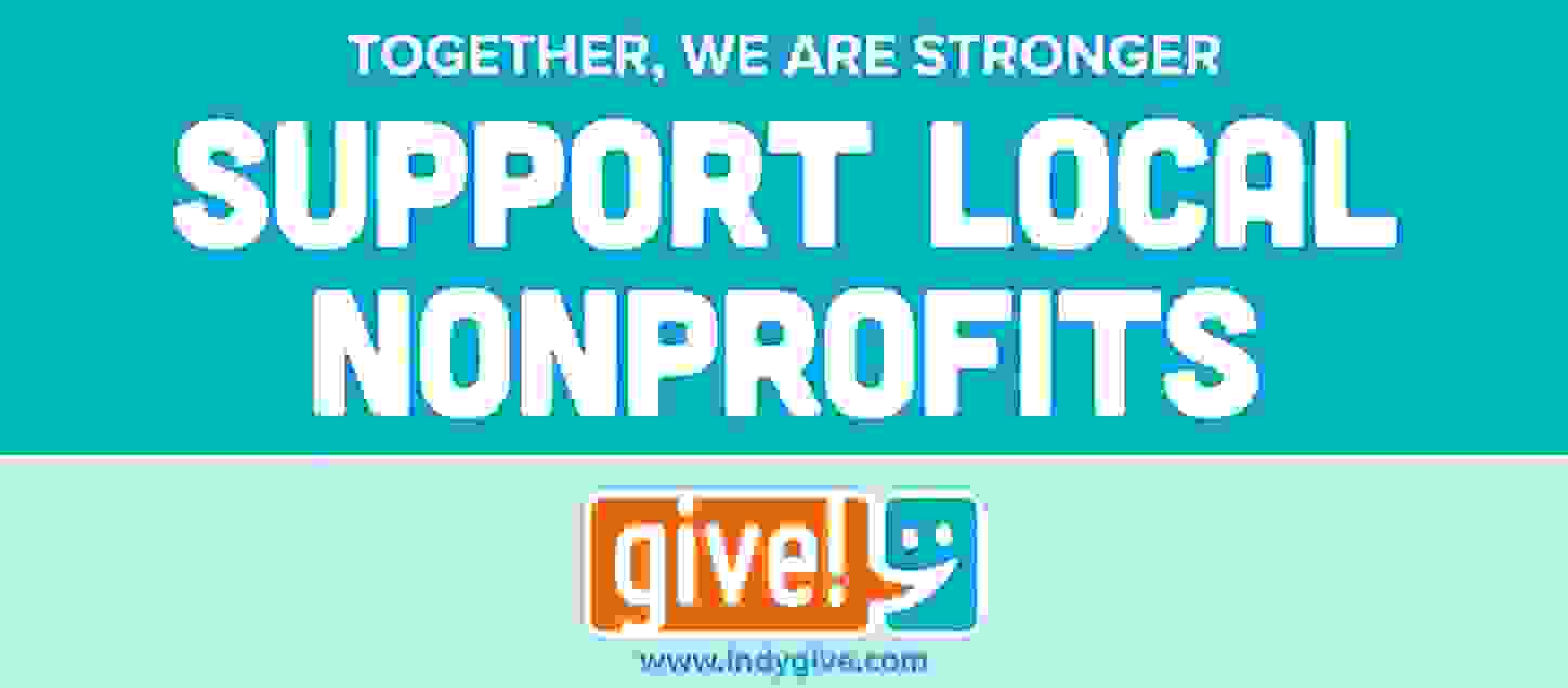 Indy give logo support local non profits