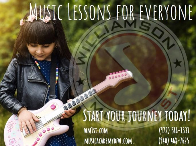 music lessons, guitar, piano, drums, vocal, band, orchestra, kids, homeschool, learn music
