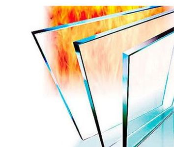 fire-rated glass, fire glass, glazing