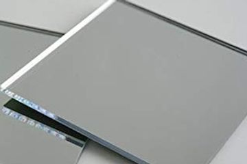 gray mirropane glass