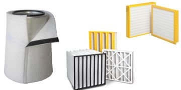 Gas Turbine static and pulse filter elements filter cartridge element tricel barrier filter sock