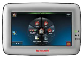 Doubles as Digital Picture Frame & Video Viewer ​Event Logging ​Message Center, honeywell, tuxedo honeywell touch screen, touchscreen alarm system