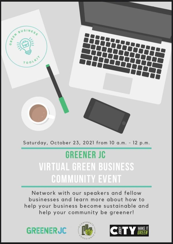 Green Business Community Event on 10/23