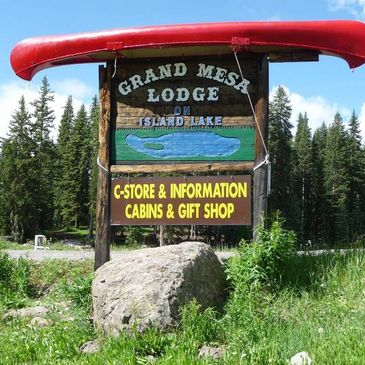 Grand Mesa Lodge, Mesa Lakes Lodge, Alexander Lake Lodge and Thunder Mountain Lodge.