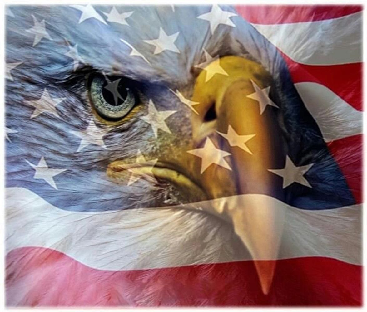 The Eagle represents our nations Birthday