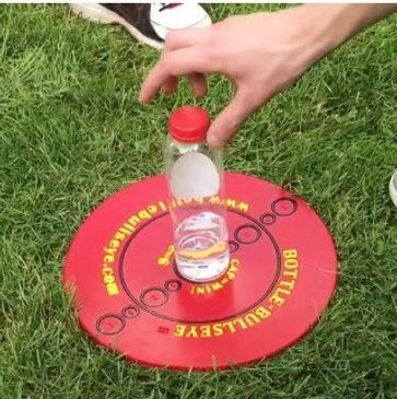 Fun family game on a picnic