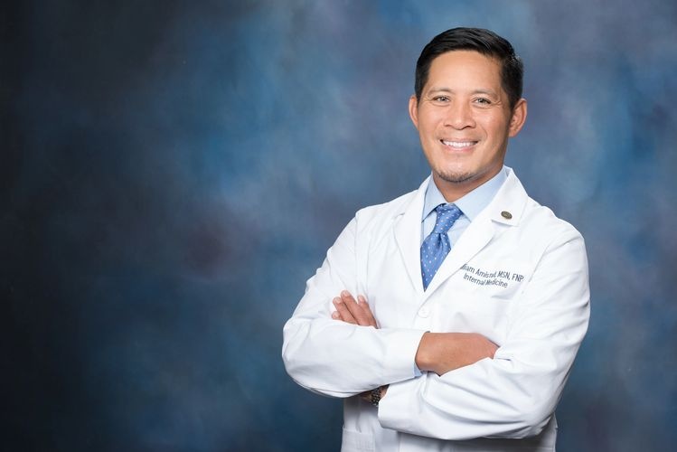 William B. Amistad, Jr. MSN,FNP board certified nurse practitioner Yuma Arizona internal medicine