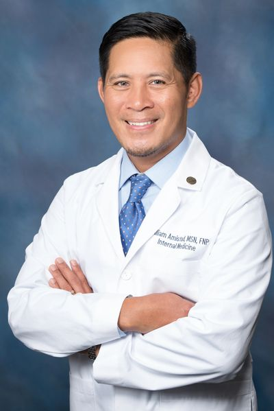 William B. Amistad, Jr. MSN, FNP Board Certified Nurse Practitioner
