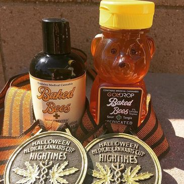 High Times Award Winning Cannabis Honey THC CBD