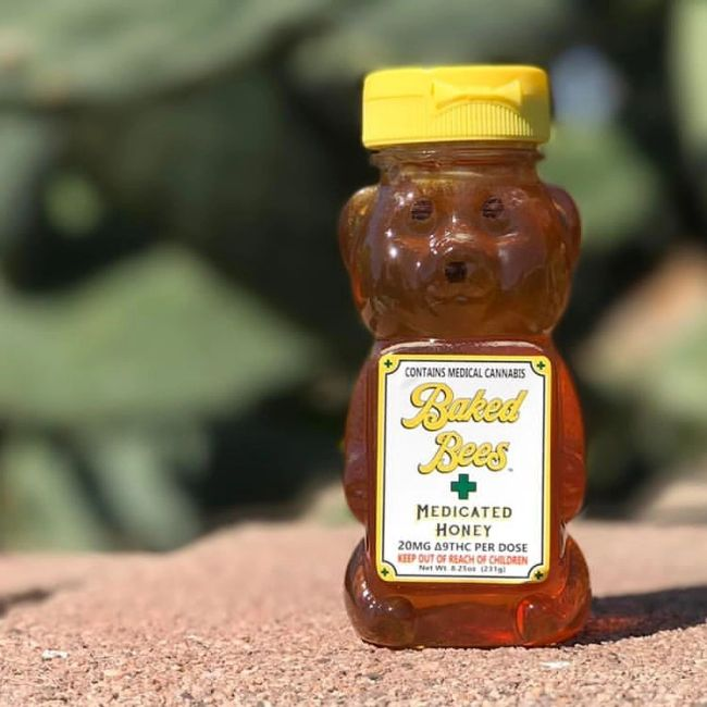 Cannabis Infused Honey THC