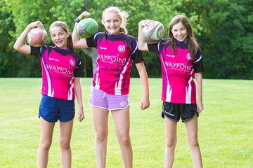 U13 Girls Tackle Rugby Toronto City Amazons