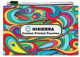HISIERRA exit bags can be custom printed exit bags