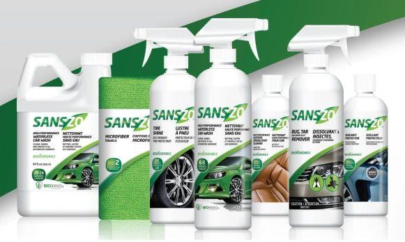 Pack of 2 SansZo Microfiber Towels