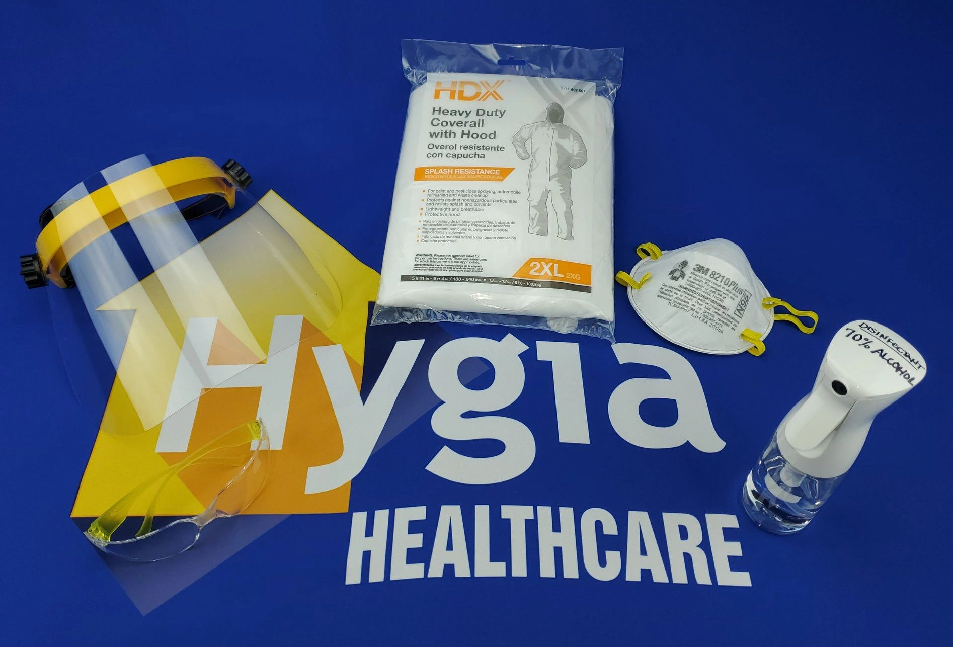 Hygia Healthcare COVID-19 PPE kit