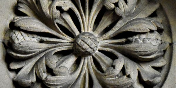Stonework at All Saints Church Bradford