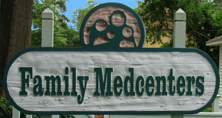 Family MedCenter Street Sign