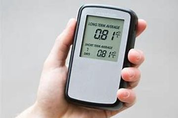 Radon identification and monitoring services.