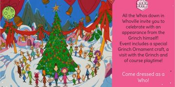 Holiday Kids events Tucson, Grinch events