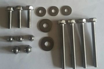 stainless steel fastener upgrade kit for honda 2 &2.3hp outboard engines