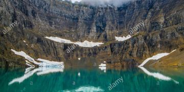Iceberg Lake, Glacier National Park, Montana, USA by Bruce Montage/Dembinsky Photo Assoc
