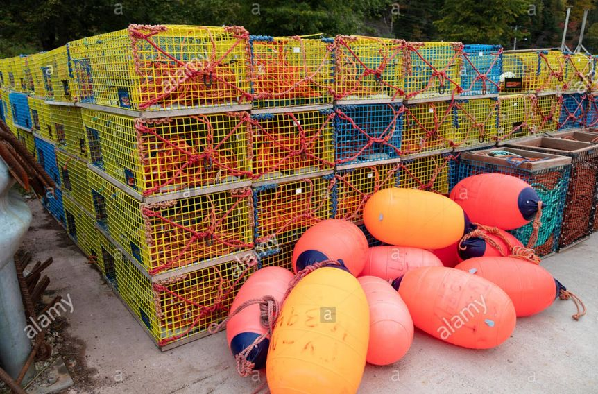 stock nature photos, stock nature photos for sale, stock nature photography, lobster traps, buoys