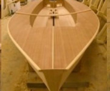 This very popular single handed dinghy is now being built by JJ Boats.  A careful study of existing