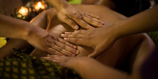 Licensed Massage Therapists providiing Four Hand Massage. Best Four Hand Massage in Tacoma.