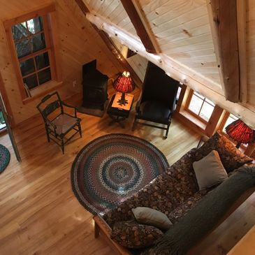 Rustic Adirondack vacation cabin rental in the Adirondacks of NY. Visit nearby Canton, NY.