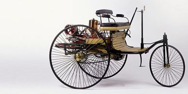Benz Patent Motor Car - The world's first automobile 1885-86