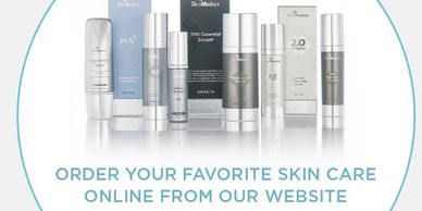 SkinMedica is now available at SKINfinity, LLC. SHOP ONLINE today!