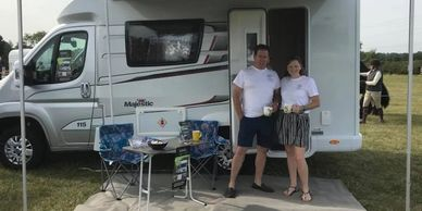 Fantastic customer service at Scotton Motorhome Hire