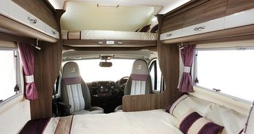 High spec motorhomes for hire
