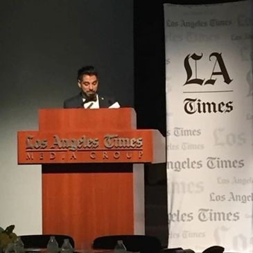 Los Angeles Times Uriel Saenz Vice President LA Times and Global Media Executive
