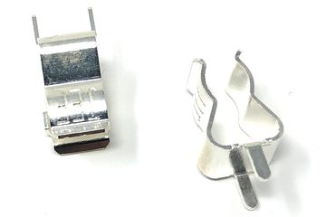 Small Circuit Board Fuse holders - silver plated
