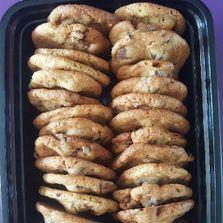 Chocolte Chip Cookies in shipping box