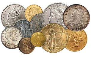 We will buy entire coin collection & dealer inventories.