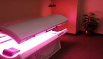 Anti aging Redlight Therapy  The Gym in Watertown, SD can use anytime  for collagen Skin joint  pain