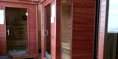 Far Infrared Saunas available only at our gym in Watertown SD.  Many health benefits