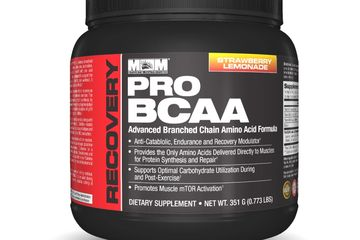 Pro BCAA high potency branched-chain amino acids 2:1:1 ratio of leucine, isoleucine, and valine.