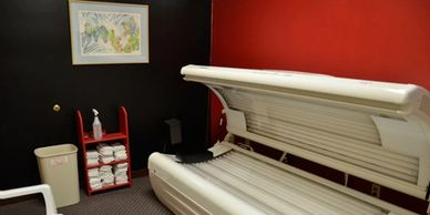 Tanning is free at this gym in Watertown SD.  Included 24/7 access with all memberships