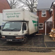 Delivery taking place in Petersfield