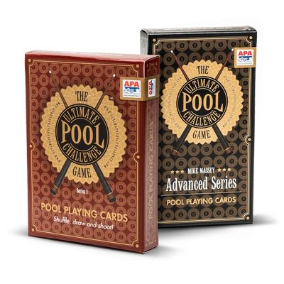 The Ultimate Pool Challenge Games, Original and Mike Massey Advanced Series, offer fun and training.
