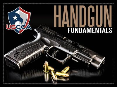 USCCA Firearms training safety rules stance grip sight picture trigger control Defensive shooting
