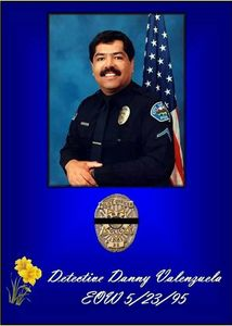 Brea Police Department: In Memory of Detective Danny Valenzuela Friens Brother Mentor